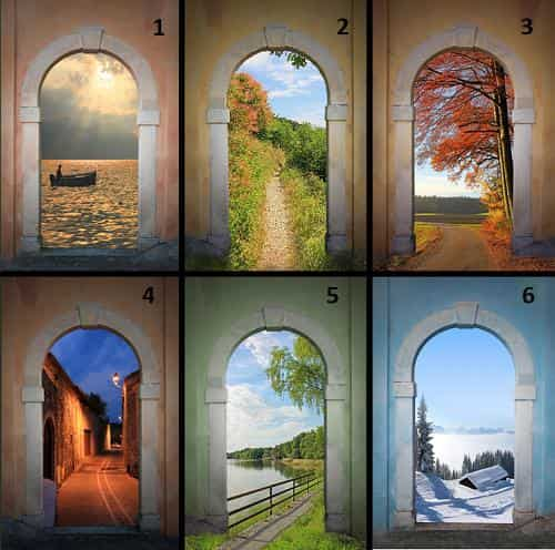 Тест: Выберите ворота и узнайте о своем характере больше