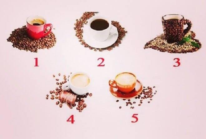 Выберите чашку кофе и мы расскажем о вашем характере