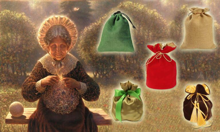Откройте мешочек и узнайте, какой подарок приготовили для вас.