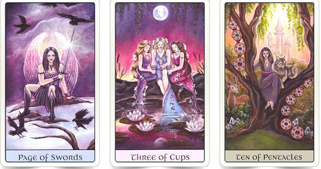 Выберите одну магическую карту и получите свой совет от Вселенной.