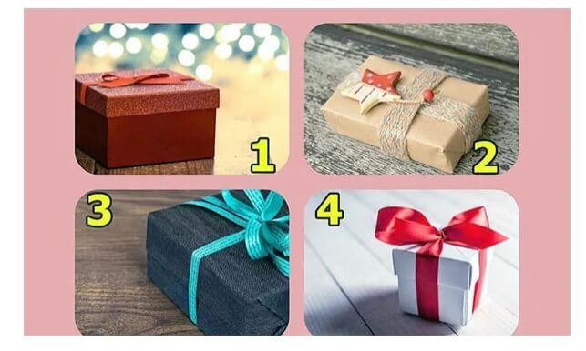 Выберите один подарок, чтобы узнать о своих талантах