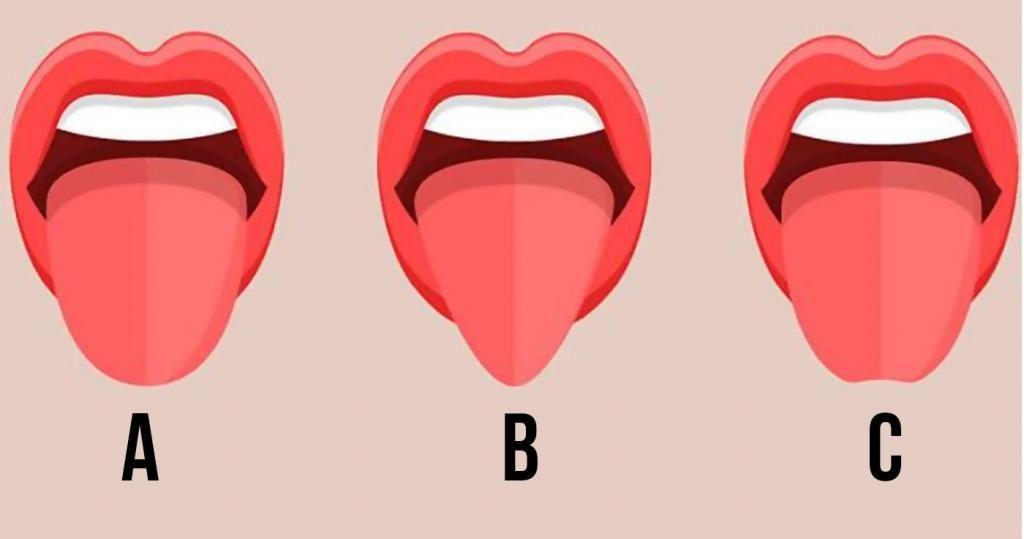 Форма вашего языка может многое рассказать о вашей личности